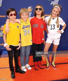 Actors Casey Simpson, Aidan Gallagher, Lizzy Greene and Mace Coronel... News Photo | Getty Images