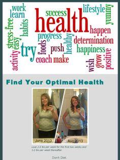 Take Shape for Life: my story.  Coaching take shape for life