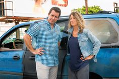 "Nate and Robin Parker (Jason Jones and Natalie Zea) encounter all sorts of trouble on their family road trip in ""The Detour,"" debuting Monday, April 11, on TBS."
