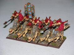 Lizardmen Saurus Cavalry