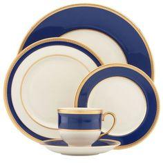 Lenox:레녹스] Independence 5-Piece Dinnerware Place Setting