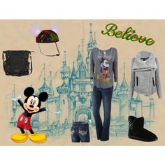 "8. ""Disney World Park Hopping in the Winter"" by thatoddmom on Polyvore #newfantasyland #momselect"