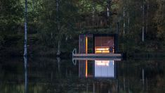 A Floating Sauna In Sweden - Dwell