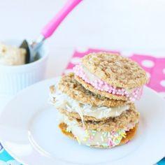 Healthy Homemade Ice Cream Sandwiches