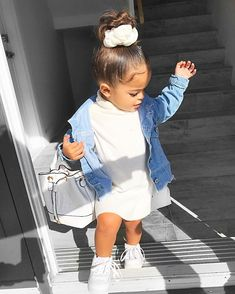 Stylish kids cute kids fashion - Home Decor ideas &Home Garden & Diy So Cute Baby, Cute Mixed Babies, Cute Babies, Cute Little Girls Outfits, Kids Outfits Girls, Toddler Girl Outfits, Kids Girls, Baby Girls, Cute Kids Fashion