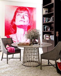 Dallas shaw picks: pink in every room { Furniture and design by Barbara Barry.}