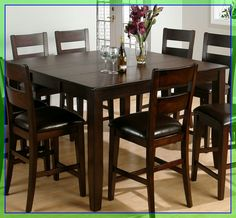 bar height table chairs #bar #height #table #chairs Please Click Link To Find More Reference,,, ENJOY!! Counter Height Kitchen Table, Square Kitchen Tables, Kitchen Table Bench, Dining Room Bench, Counter Height Dining Table, Wooden Dining Tables, Dining Room Sets, Dining Room Furniture, Table Height