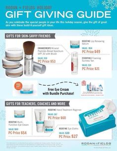 Great gift ideas! shannondalrymple.myrandf.com