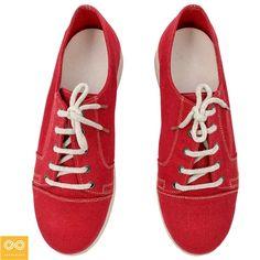 Handmade Urban Explorer Organic European Hemp Sneakers. Made from start to…