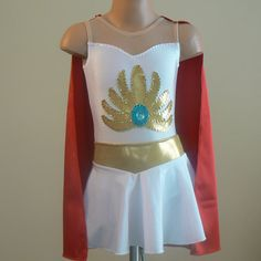 She-ra Princess of Power inspired costume 2T through by SENDesigne