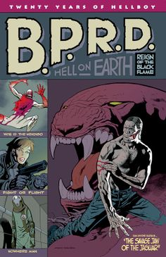 B.P.R.D. Hell on Earth #119 (Kevin Nowlan cover) Reign of the Black Flame #5