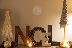 DIY Christmas Decor (This is surprisingly easy and inexpensive!)
