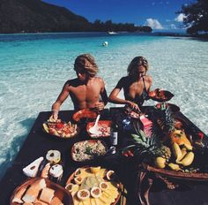 "A tropical ""bae cation"" pinterest: plentifulbeaute"