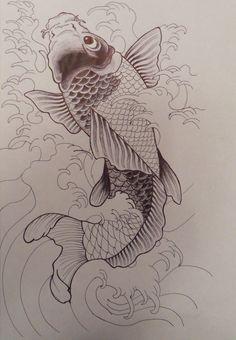 Unfinished Koi Fish by Stacey2512.deviantart.com on @deviantART