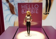 Hello Barbie is World's First Interactive Barbie Doll