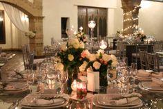 Matrimonio con toques blancos y muy elegantes