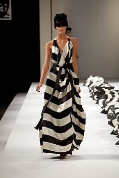 black and white chic!