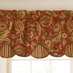 french country valance curtain rooster waverly la petite ferme