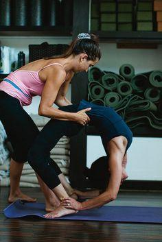 Mysore Ashtanga Yoga by carabros, via Flickr