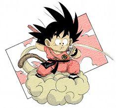 Manga Tattoo, Anime Tattoos, Goku Manga, Manga Anime, Dragon Ball Z, Kid Goku, Ball Drawing, Ball Birthday Parties, Monkey King