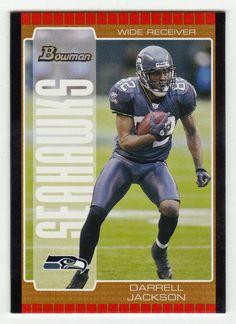Darrell Jackson # 80 - 2005 Bowman Football Bronze