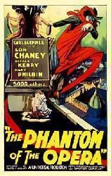 The Phantom of the Opera movie poster [Lon Chaney Sr.] 11 X 17 Only $11.97