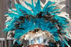 Tahitian dance headpiece Headdress Extra large by islandcostumes