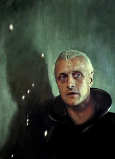 Rutger Hauer in Blade Runner (dir - Ridley Scott) - the shoulder of Orion (stars on the wall?)