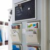 Home Organization: Great Idea for Organizing those papers that often end up on the kitchen Counters