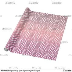 Abstract Squares 9 Wrapping Paper