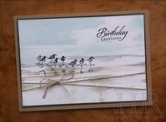 "All Things Stampy: Wetlands with ""painterly"" background  Stampin' Up Wetlands"