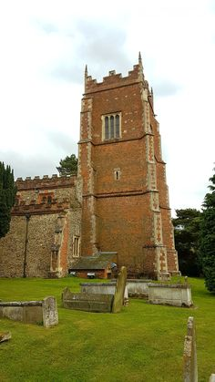 Built in circa 1616 of red brick tower topped by parapet, pinnacles and turrets. Includes a small cupola St Nicholas Church, Saint Nicholas, Red Bricks, United Kingdom, Castle, Wedding Day, Tower, Building, Pi Day Wedding