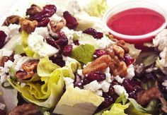 Recipe: Roast Chicken, Raspberry, and Walnut Salad