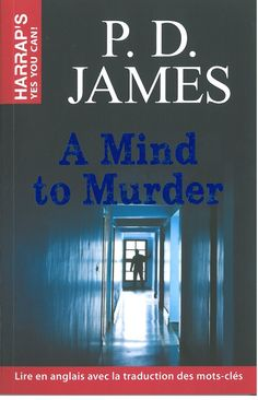 Educational edition of P.D. James's 'A Mind to Murder' as received from Larousse
