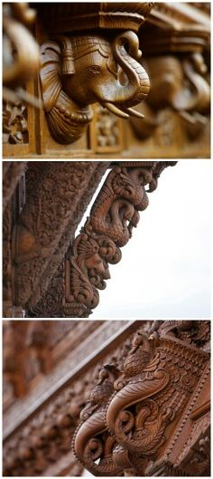 BAPS Swaminarayan Hindu Mandir, Haveli Hindu carvings, London, U. Indian Architecture, Historical Architecture, Ancient Architecture, Hindu Mandir, Relaxing Photos, Temple India, Angkor Wat, Stone Work, Incredible India