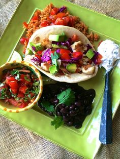 Baja Fish Tacos with Chipotle, Cilantro & Lime Crema - La Bella Vita Cucina #tacos #fish #fishtacos #mexican # cincodemayo