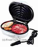 Koolatron - 12-Volt Portable Grill (Drive-N-Grill) - 401-596