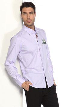 Kiğılı Erkek Gömlek Düz Lila | limango.com.tr | Alışverişin Zevki O 24.90 TL