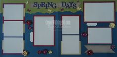 Re-inventing a Good Idea  - a re-designed layout from an Easter layout on the blog.