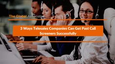 The job performed by telesales companies is never a walk in the park, the presence of call screeners can make life even tougher for them. It's essential to learn the art of dealing effectively with the call screeners in order to be able to get an easy access into the decision maker's chamber. Have all the right information about the executive, be honest with the call screeners, and use good referrals wherever possible to achieve this seemingly impossible objective.
