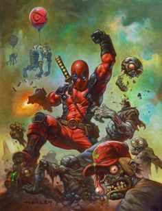 Deadpool by Alex Horley