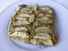 1 REFLEJO EN EL ESPEJO + #VIVESANO +: Tarta de manzana fitness (dieta)