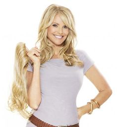 """16"""" extensions from the Christie Brinkley Collection. For a limited ..."""