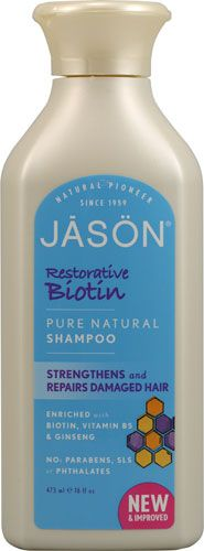 Jason Pure Natural Shampoo Restorative Biotin!! & conditioner! So I decided to try this and guess what it's amazing. It made my hair soft just after 3 uses! I highly recommend this shampoo & condish! ❤❤❤