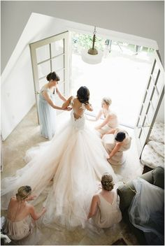Jana Williams photography, Galia Lahav wedding dress, soft romantic wedding Southerm California