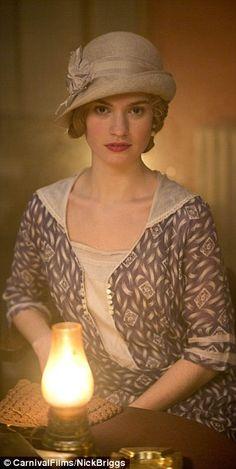 Lady Rose  | #DowntonAbbey #vintagefashion #vintage