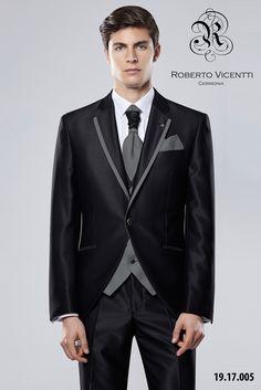 Roberto Vicenti, traje de novio.