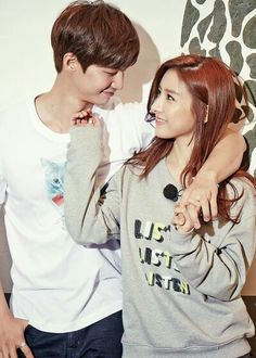 Released today, finally, almost a year after... Kim So Eun & Song Jae Rim for Us N Them - SoLim