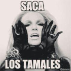 Saca los tamales! !