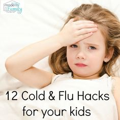 Sharing these cold & flu hacks, because the writer's mom was a nurse and she was in charge of flu shots at local schools and hospitals, they have a lot of tips!